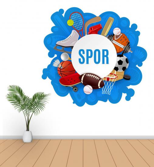 Spor Salonu Sticker S1
